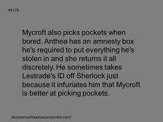 Sherlock Headcanon : Photo