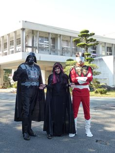 Darth Vader, Wicked Witch & Power Ranger