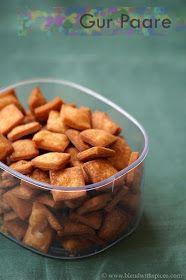 Indian Cuisine: Gur Para Recipe - How to Make Gur Pare - Step by Step Recipe - Holi Recipes