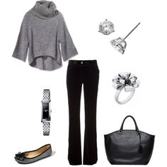 """I'd wear this just about anywhere :) """"Hillary"""" by jennifer-garcia-llanes on Polyvore"""