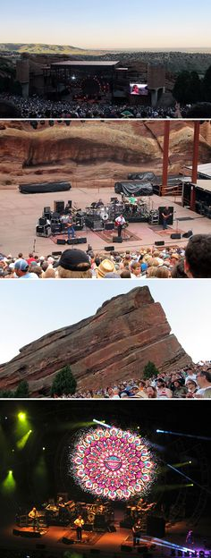 Widespread Panic at Red Rocks - July check!
