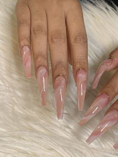 Bling Acrylic Nails, Drip Nails, Square Acrylic Nails, Aycrlic Nails, Best Acrylic Nails, Swag Nails, Pink Nails, Acrylic Toes, Grunge Nails