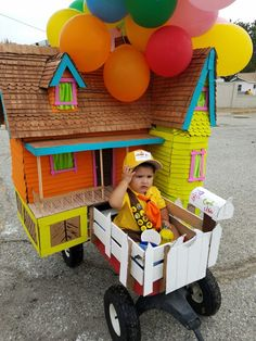 """Russel from the Movie """"Up"""" Up Halloween Costumes, Baby Costumes, 1 Year Birthday, Birthday Celebration, Up Shoes, Movie, Party, Diy, Birthday Photos"""