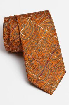 Etro Woven Silk Tie. Nordstrom.
