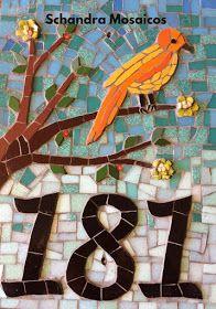 Trabalhos em Mosaico: Numero em Mosaico