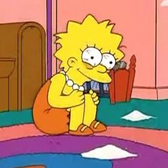Find images and videos about sad, memes and lisa on We Heart It - the app to get lost in what you love. Simpsons Meme, Lisa Simpsons, Simpsons Quotes, Cartoon Memes, Funny Memes, Cartoons, Cartoon Profile Pics, Joko, Anime Meme