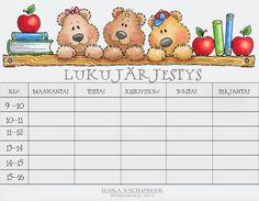 Kuvahaun tulos haulle tyhjiä lukujärjestyksiä Back To School, Workshop, Classroom, Activities, Education, Drawings, Google, Pray, Class Room