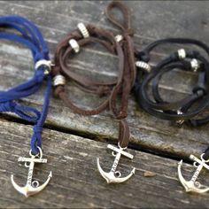 Anchor Hook Nautical Bracelets