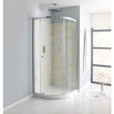- Grand sale on this Simpsons Edge Single Door Quadrant Shower Enclosure Manufacturing code of this product is Tile Walk In Shower, Shower Taps, Glass Shower Doors, Glass Bathroom, Sliding Glass Door, Bathroom Interior, Modern Bathroom, Small Bathroom, Bathroom Ideas
