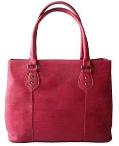 Elegant and roomy #Tote #Handbag made of silky smooth #cork #leather   #sustainable, #vegan, water and dirt repellent   CHF 180.00