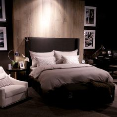 You searched for slettvoll - Anette Willemine Decor, Bedroom Retreat, Beautiful Bedrooms, Bedroom Inspirations, Bed, Modern Bedroom, Blue Bedroom, Bedroom Styles, Furniture Design