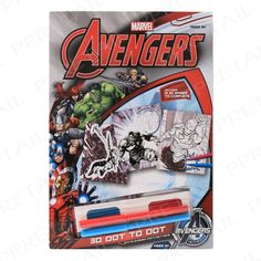 marvel avengers dot to dot 3D images colouring 3D glassess christmas gift #Marvelavengers  #marvel #avengers #dot-to-dot #3DImages #colouring #3Dglassess #christmasgift #KIDS #ACTIVITYPACK