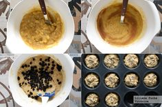 Muffins Fitness, Oatmeal, Breakfast, Recipes, Food, Gram Flour, Deserts, Chia Seeds, The Oatmeal