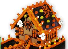 Haunted Gingerbread House for Halloween