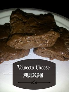 "Yes, I use xylitol in recipes and it's not totally ""au naturel"" but velveeta? in fudge? sorry, but I draw the line there. No Fail Fudge Recipe, Fudge Recipes, Cocoa Blend, Marshmallow Creme, Velveeta, Holiday Candy, Weird Food, Candy Making, Vegetarian Cheese"