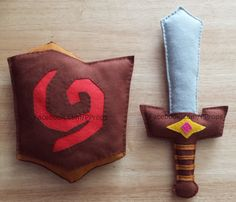 OoT Deku Shield 2 Kokiri Sword 1. Plush, soft, felt, prop for children's cosplay or display. Completely hand made and hand sewn. https://www.facebook.com/PProps