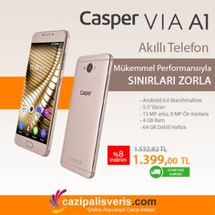 CASPER VIA A1 CEP TELEFONU