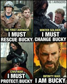 It's always been about bucky - 9GAG