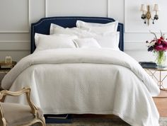 Lyric Sheeting Duvet Cover & Shams