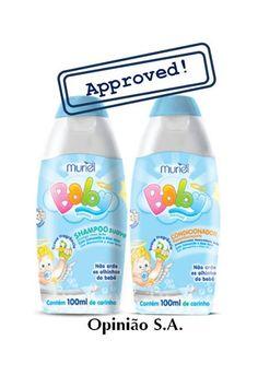 Muriel – Shampoo e Condicionador Baby Menino