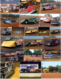 Fuel, speed, nudging, checkered flags #dirt track racing!