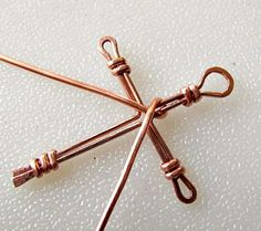 Wire Wrapped Cross Tutorial | Jewelry Pinn