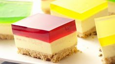 Slices to make : Jelly Belly Cheesecake Slice!