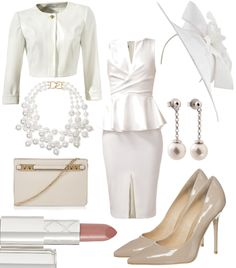White Secret #fashion #style #look #dress #mode #outfit
