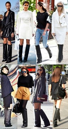 Style Inspiration: Givenchy Knee Boots. I want these boots!