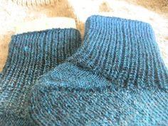 ESTHERS STRICKBLOG: Socke im Halbpatent