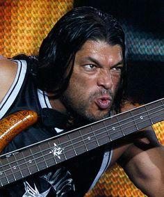 he is no Jason Newsted.BUT I really dig this dude. Robert Trujillo, Metallica, David Ellefson, Jason Newsted, Dimebag Darrell, Music People, Thrash Metal, Metal Bands, Music Bands