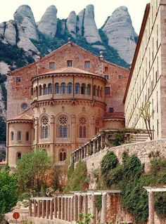Benedictine Monastery, Montserrat, Barcelona - Spain