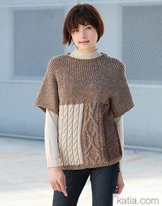 Essentials Magazine 12 Fall / Winter | 19: Women Jersey | Brown roe / Brown / Gray stone