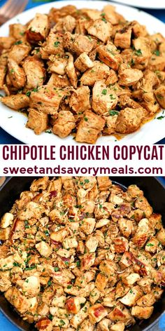 Chipotle Chicken Copycat, Chipotle Recipes, Mexican Food Recipes, New Recipes, Cooking Recipes, Favorite Recipes, Healthy Recipes, Walnut Recipes, Popular Recipes