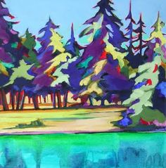 """Green Gold"" by Carolee Clark, Oregon Artist"
