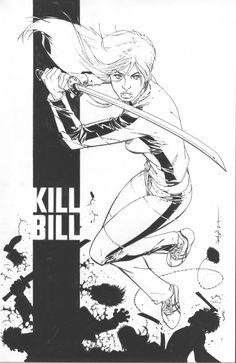 Kill Bill - Beatrix Kiddo by Jason Pearson *
