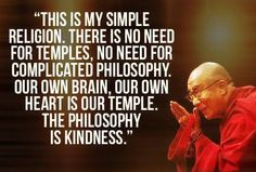 just be kind.....