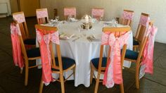 Coral and lace at Ufton Court tithe barn   www.blueorchid-events.com