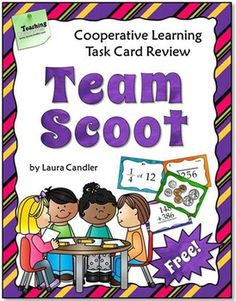 FREE idea/resource to turn Scoot into a team/cooperative learning game.  Offered by Laura Candler.