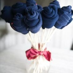 DIY Sock Bouquets {how-to}