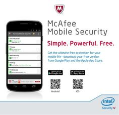 McAfee Mobile Security for IOS is the perfect smart phone or