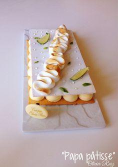 Tarte meringuée citron basilic