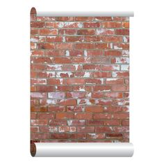 Vintage Shabby Brick Self Adhesive Wallpaper Home Depot