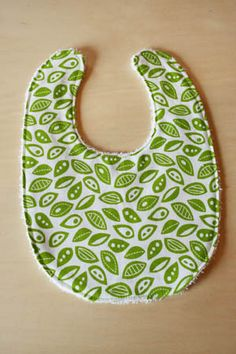 Baby Bib with Snaps Tutorial | One Crafty Home