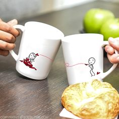 Perfect gifts for anniversary, dating anniversary, and wedding anniversary for her. With all of your heart and soul, you want them to know that nothing would bring you closer to bliss than for them to be yours forever, and they can be reminded every day with the gift of our romantic Love Will Find a Way couples mugs.