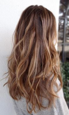 Coupe cheveux longs : wavy hair
