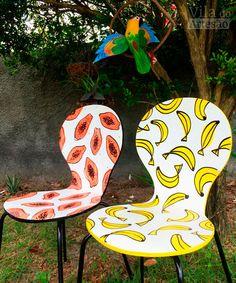 Como restaurar uma cadeira com ilustra