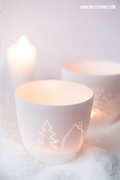 Candlelight - could be done with tin cans too