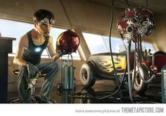 If Iron Man was made by Pixar…