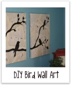 DIY Bird Decor